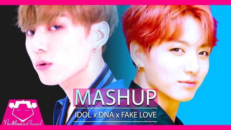 BTS - Idol x DNA x (Fake Love) (KPOP MASHUP 2018)