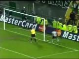 Спортинг-ЦСКА (финал КУ ЕФА 2005 года. 2-й тайм)