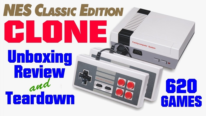 NES Classic Edition Clone, MINI GAME Anniversary Edition Entertainment System 620 Games