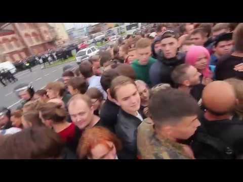 Митинг в Петербурге против пенсионной реформы 9 сентября 2018