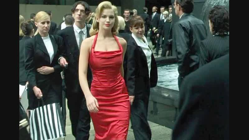 Матрица Девушка в красном