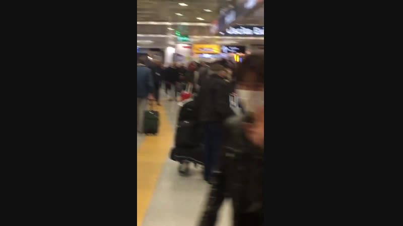190219 suho_video EXO SUHO JunMyeon - FCO Airport