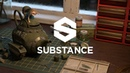 Texture Streaming Experimentation: Substance Painter to Renderman for Maya
