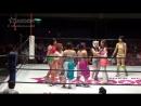 Hanan ShiKid Shiki Shibusawa Starlight Kid Tam Nakano vs JAN Jungle Kyona Kaori Yoneyama Natsuko Tora Ruaka