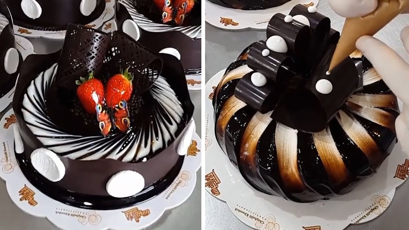 The Most Satisfying Cake Decorating Video! Top 10 AMAZING CAKES SKILLS SUPER HUMAN GOD LEVEL