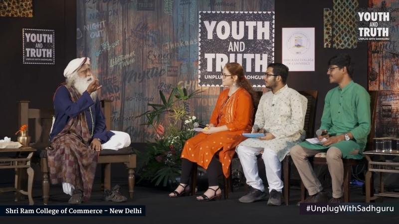 Sadhguru at SRCC, New Delhi - Youth and Truth [Full Talk]