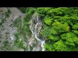 Tolantongo Caves _ Prismas Basalmicos _ Drone in Hidalgo (Mexico)