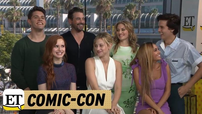 Comic-Con 2018 The Cast Of Riverdale Talk Bughead In Season 3 | Part 2