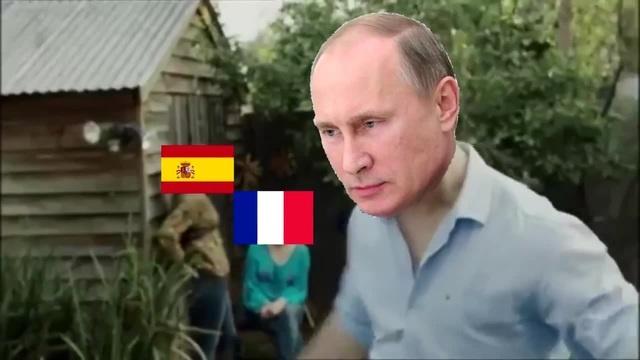 Сказ о том как Путин лещи раздавал