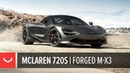 McLaren 720S Boden Autohaus Vossen Forged M X3 Wheels