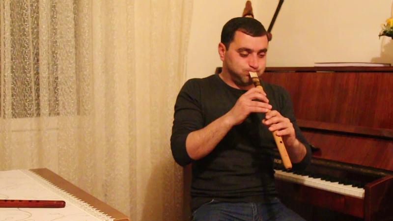 Armenian duduk in A made by master Galstyan GGA