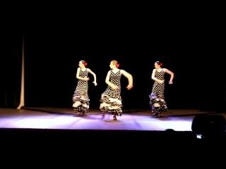 II Сибирский фестиваль фламенко iOle con Ole!. Школа фламенко «Soniquete»  Solea por Bulerias