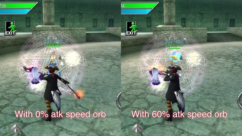 Avabel Online: 60% attack speed orb comparison