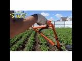 мотоблок-отличный помощник на огороде!
