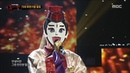 King of masked singer 복면가왕 'the East invincibility' defensive stage Y Si Fuera Ella 20180325