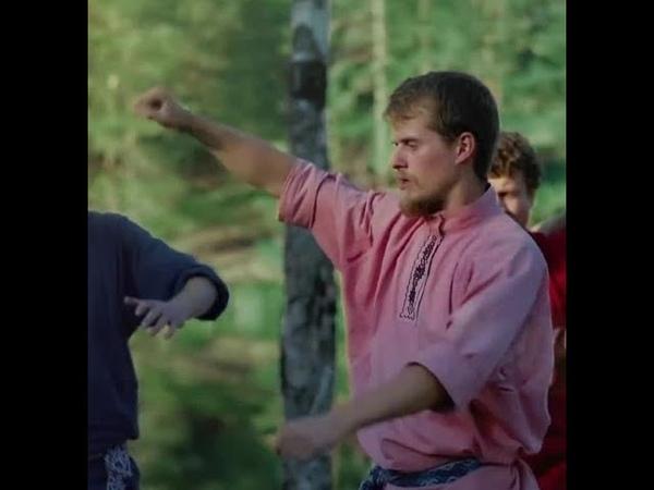 Урок 6 ШАГИ Обучение Традиционной Мужской Пляске БУЗА Русские народные танцы Кулачный Рукопашный Бой