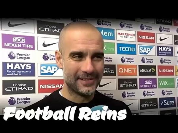 Man City vs Everton-Pep Guardiola Postmatch Interview