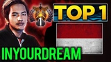 TOP 1 MMR in the World - inYourdreaM SEA Star Player Back to the Top in MMR Season 2 - Dota 2
