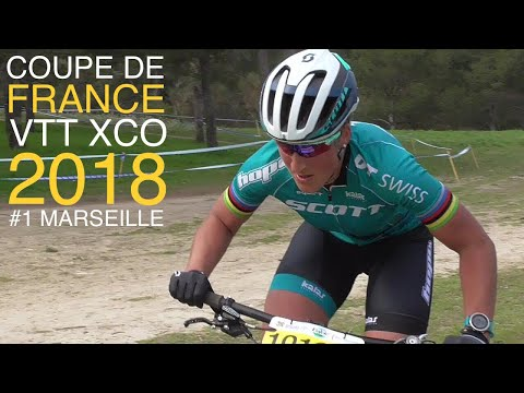 COUPE DE FRANCE VTT XCO 2018 Marseille Femmes Elite Women MTB Cross Country XC French Cup World Race