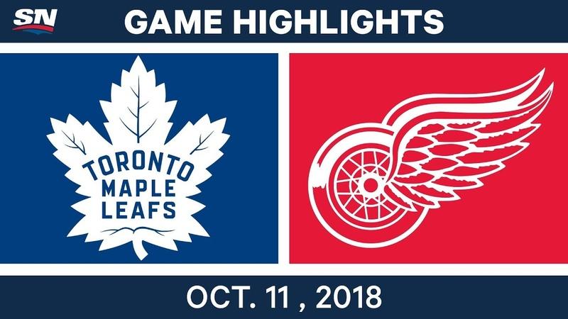 Торонто - Детройт, 12.10.2018. Обзор » Freewka.com - Смотреть онлайн в хорощем качестве