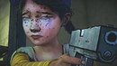 Clementine Shoots Lee The Walking Dead Game Remastered Ending Scene