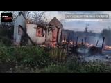 Сгорело сразу 6 домов, Туймазы 02.08.2018