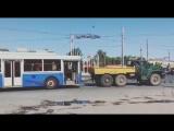 В Иваново Доставили 1-й троллейбус из 19 подаренных Москвой