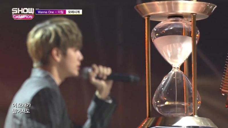Wanna One The Heal Sandglass @ Show Champion 180613