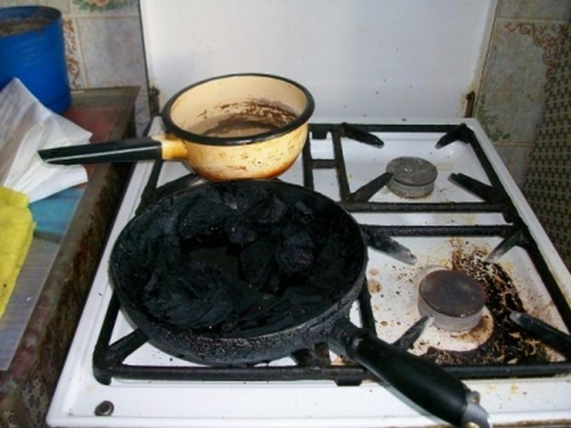 В Донецкой области пожилая женщина получила отравление продуктами горения
