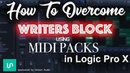 How to overcome Writers Block using Midi Packs in Logic Pro X-Tutorial | Unison Midi Pack Review |