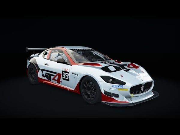 SRS Brands Hatch @ Maserati GranTurismo MC GT4 - LIVE ONBOARD