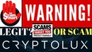 Cryptolux ICO SCAM! Analytical Review Exposed! (Proof Attached)