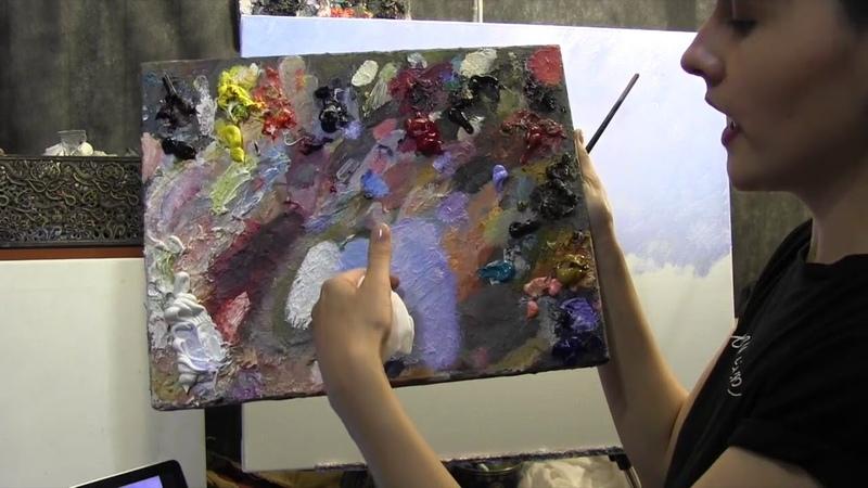 Копируем картину Клода Моне импрессионизм