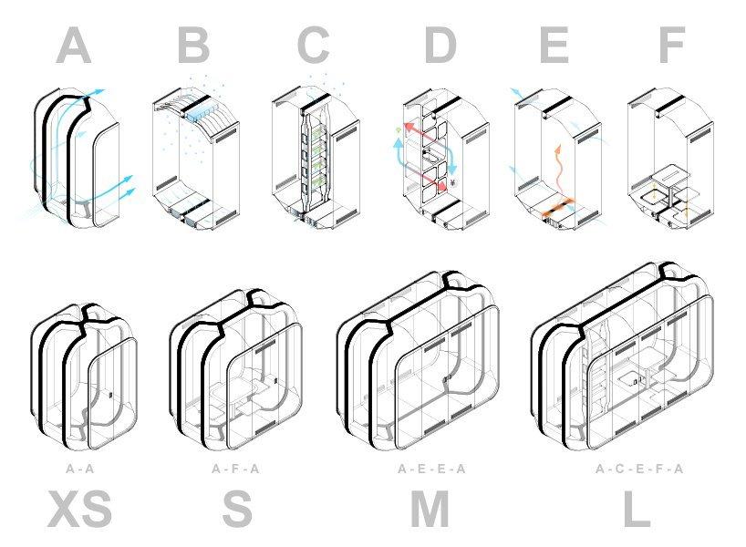 Концепция модульных зданий