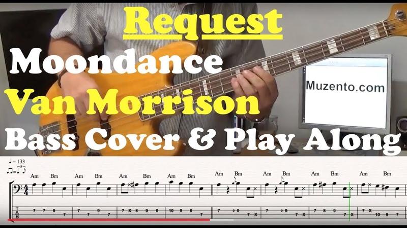 Moondance Bass Play Along Request