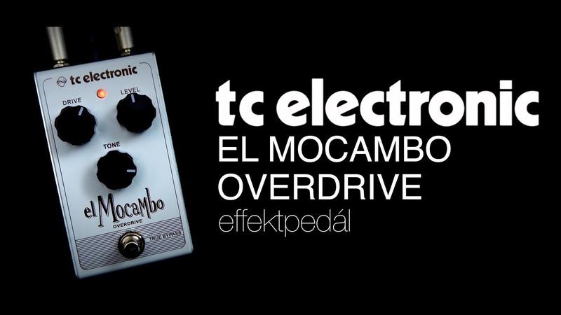TC Electronic El Cambo Overdrive effektpedál