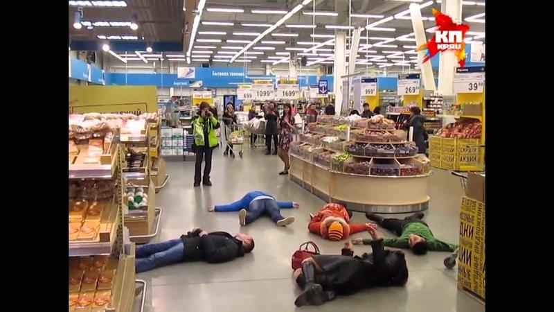 Новокузнечане массово упали в голодный обморок