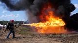 XL18 Flamethrower SlowMo NFA Review Shoot 2018