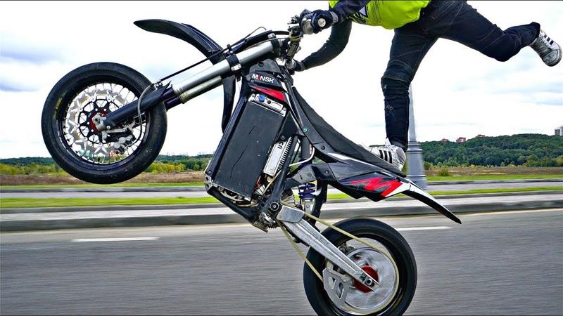 Российский Электро Мотоцикл