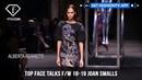 Joan Smalls Top Face Talks Fall Winter 2018 19 FashionTV FTV