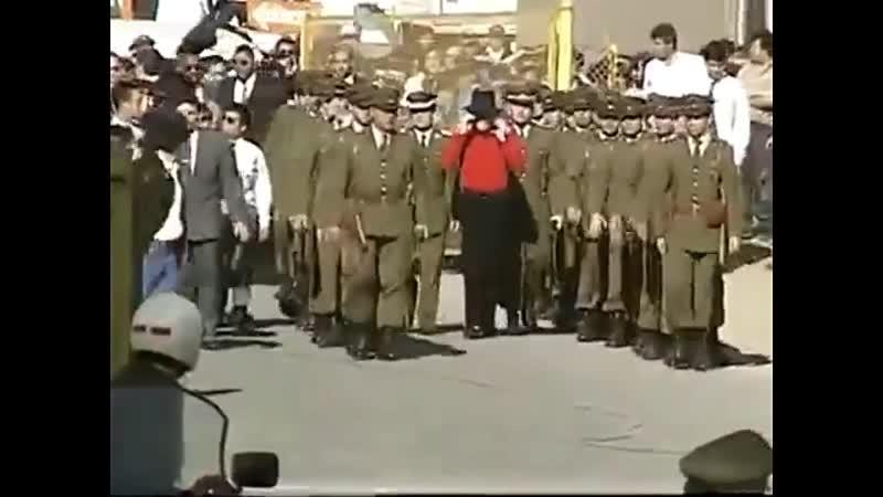 Michael Jackson visit in Chile - Dangerous Tour ( Web Radio Michael Jackson)