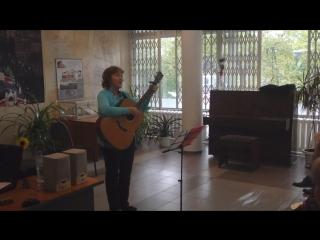 Наталья Шубина. Песня