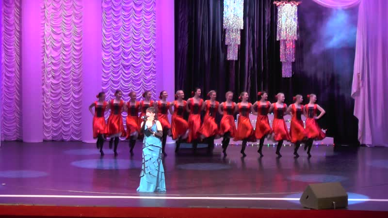 02 17 2019 Татьяна Мальгина и Театр Танца Нимфея fantastic singing dancing