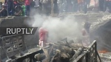 Locals throw HUMAN ASHES to celebrate Mashaan Holi in Varanasi