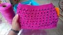 Bolso Tejido a Crochet Punto Hazme si Puedes Con Cristales