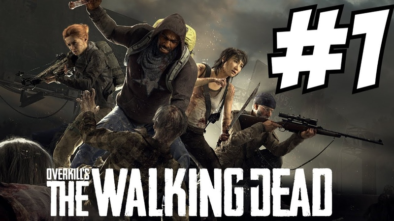 Overkills The Walking Dead Gameplay Campaign Horde Mode Anderson Camp Central George Town