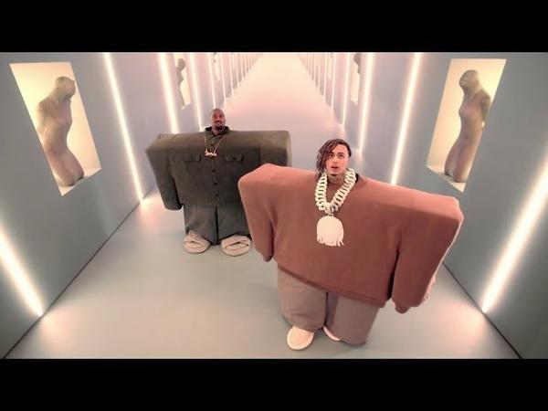 Kanye West Lil Pump ft. Adele Givens - I Love It (Official Music Video)