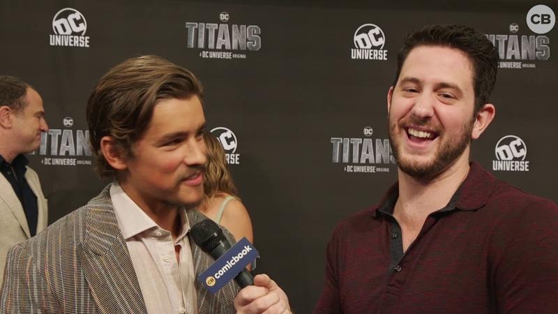Интервью | «Comicbook.com» Брентон Туэйтес на премьере «Титаны» (03.10.18)