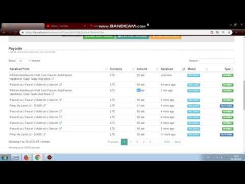 Legit Auto Faucet Web Ke 43 Bagian 1 Free Litecoin No Timer Expiration