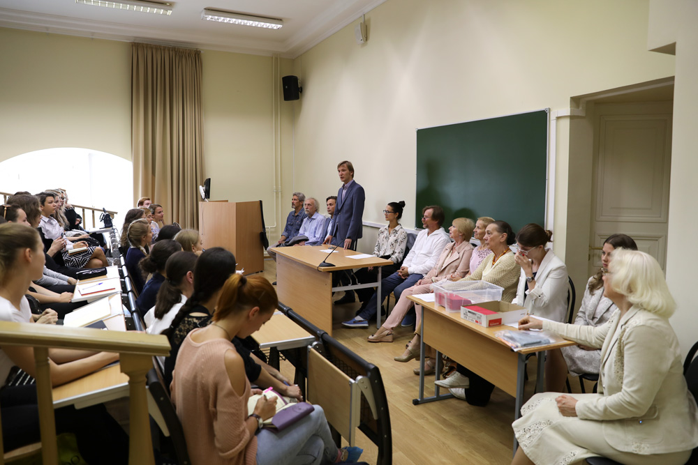 собрание первокурсников